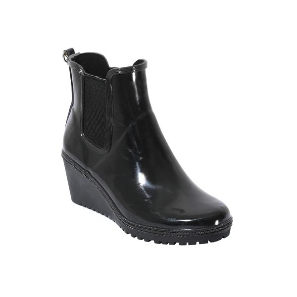 女士高跟橡胶雨鞋