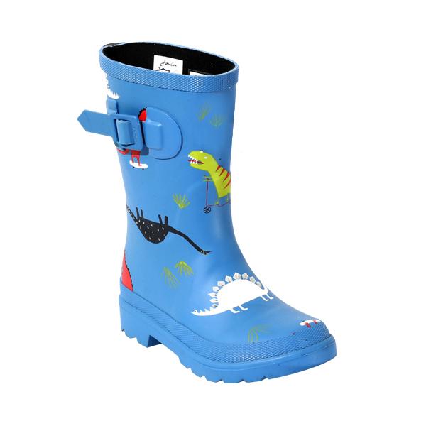高品质男童印花橡胶雨鞋