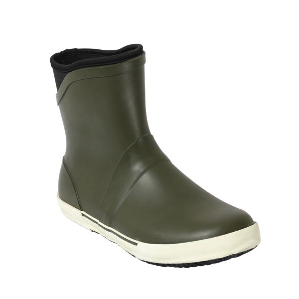 男士短款牛博朗橡胶靴