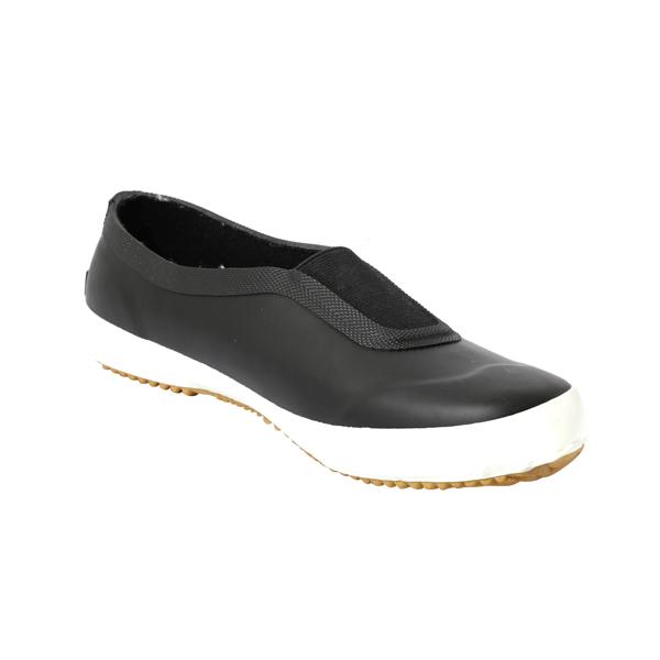 黑色防水橡胶雨鞋