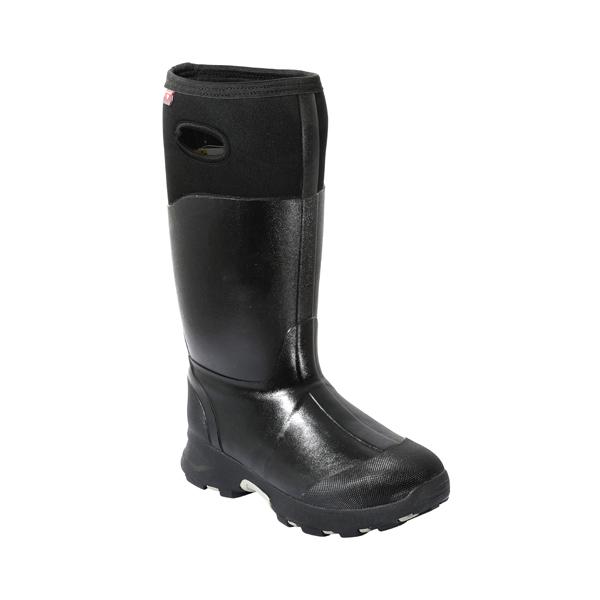 黑色男士牛博朗雨靴