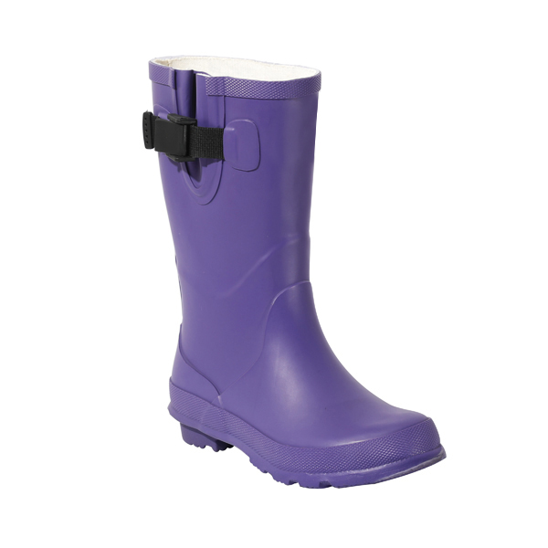 中高女士橡胶雨靴