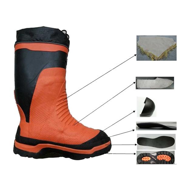 伐木工人橡胶安全靴
